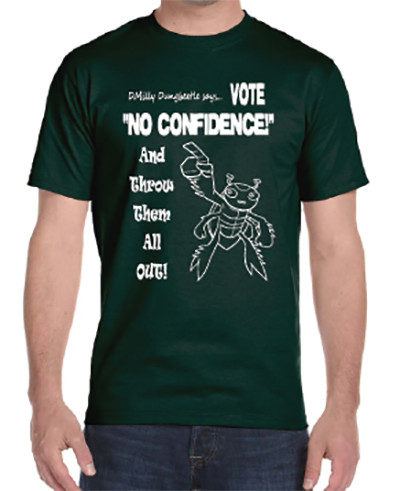 Vote No Confidence T-Shirt