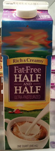 Fat Free Half-and-Half